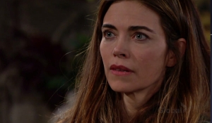 Victoria frets in cabin on Young and the Restless