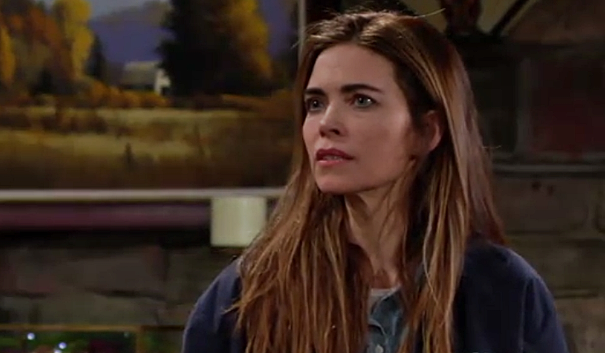 Victoria in the cabin on young and the Restless