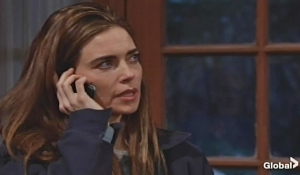 victoria on the phone on young and the restless
