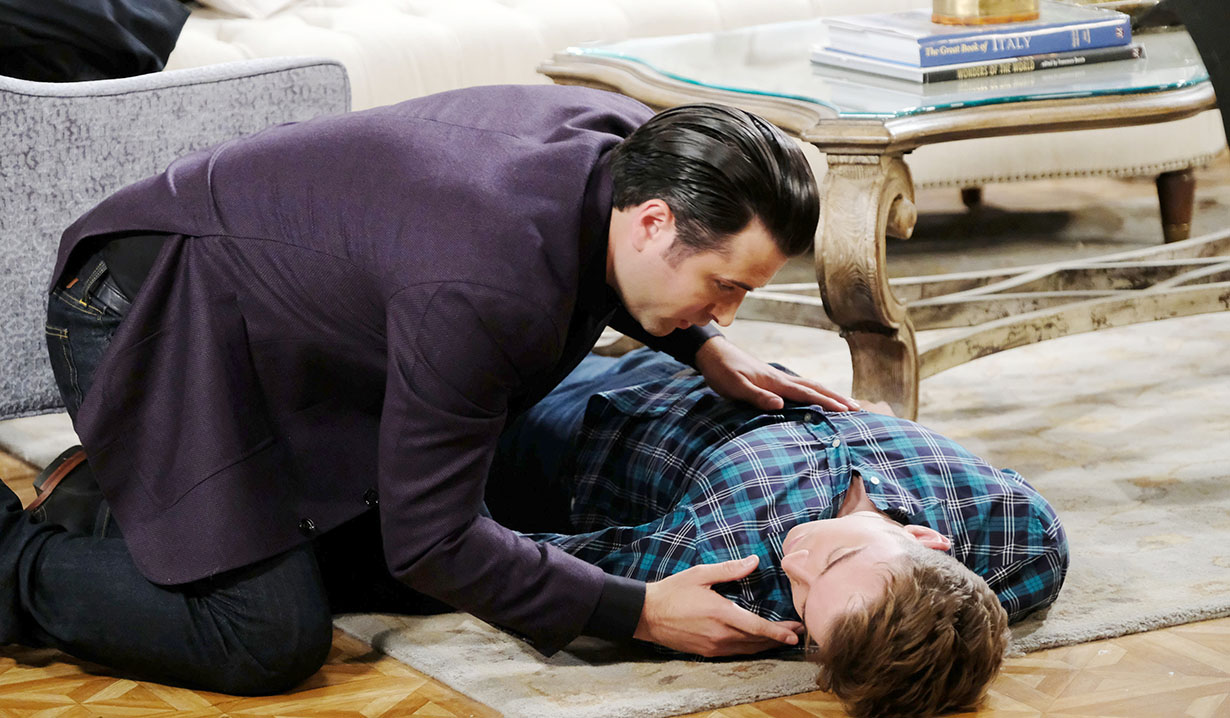 sonny finds will unconscious days of our lives