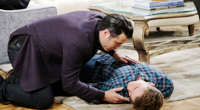 Ciara Cares for Ben while Sonny Worries When Will Passes Out