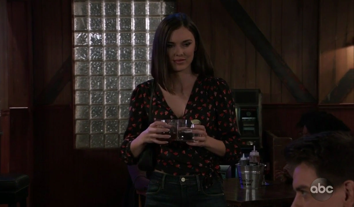 Willow startled by mention of DoD on General Hospital