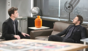 Wyatt checks in with Liam on Bold and the Beautiful