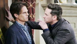 leo gets a warning from stefan on days of our lives