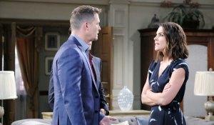 brady talks to chloe at mansion