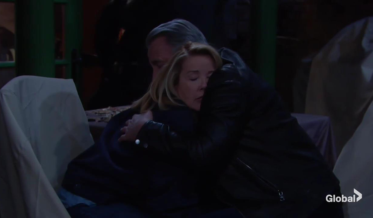 victor hugs nikki after rescue young and restless