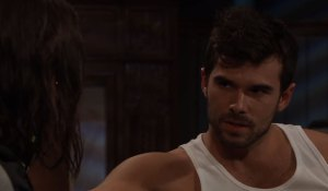 Chase and Willow have serious talk on General Hospital