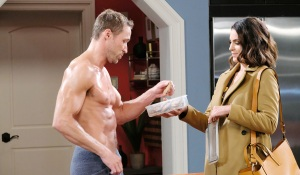 rex gets cookies from chloe on days of our lives