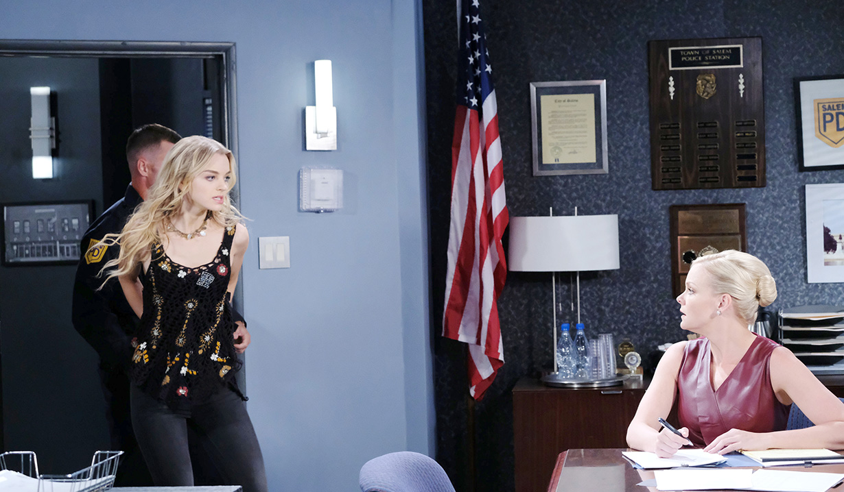 Marlena's in Purgatory, Will and Claire Are Arrested