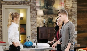 haley claire and tripp at the loft days of our lives