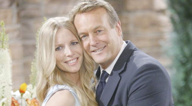 Christine and Paul wedding on young and the restless