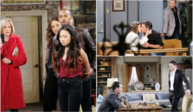 days blog, haley eric and stefan on days of our lives