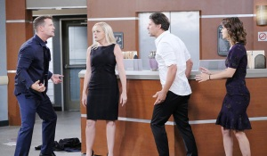 brady belle eric sarah fight days of our lives