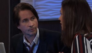 Finn and Anna at Metro Court on General Hospital