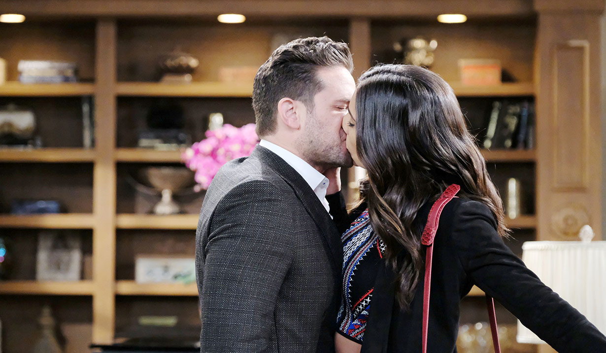 stefan and gabi kiss days of our lives