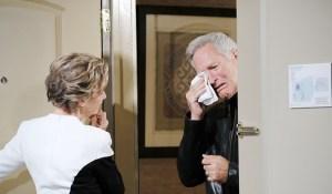 john cries at diana's door