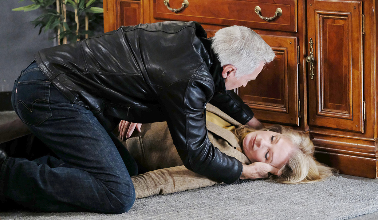 john finds marlena unconscious days of our lives