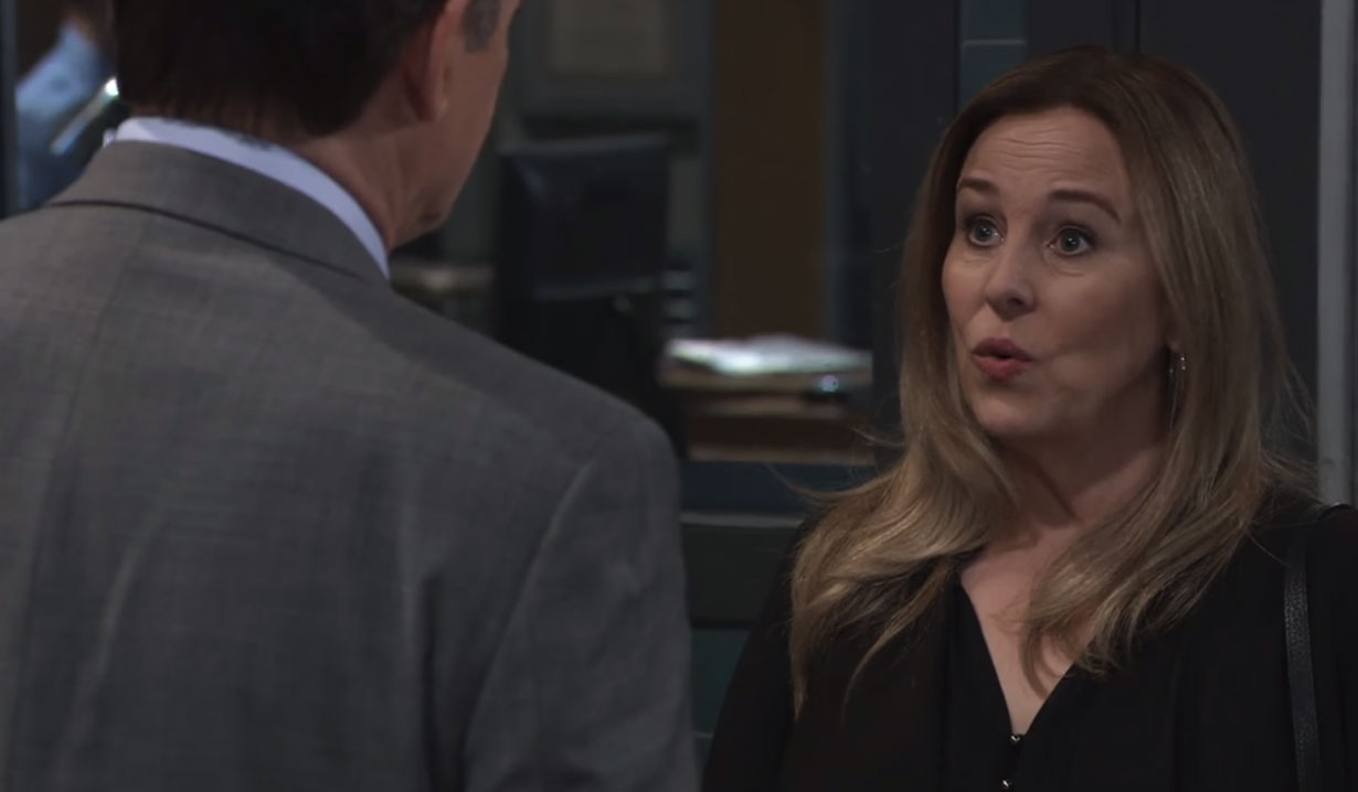 Laura doesn't want to divorce Kevin on General Hospital