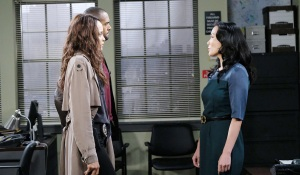 melinda talks to cops about haley