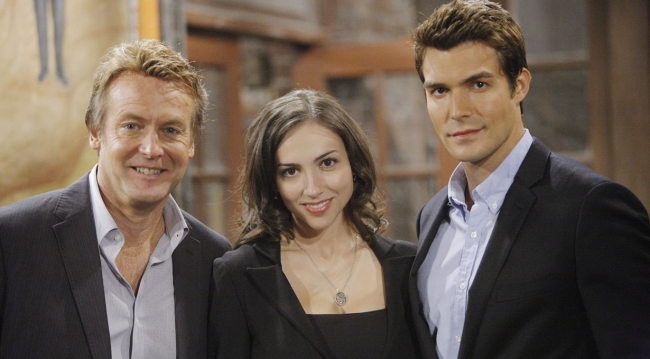 Paul, Heather and Ricky on Young and the Restless