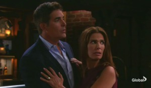 rafe and hope interrupted at pub on days of our lives