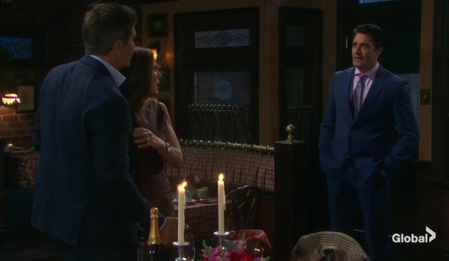 rafe and hope interrupted by ted on days of our lives