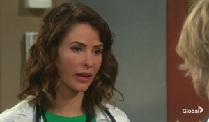 sarah learns rex is working at the hospital on days