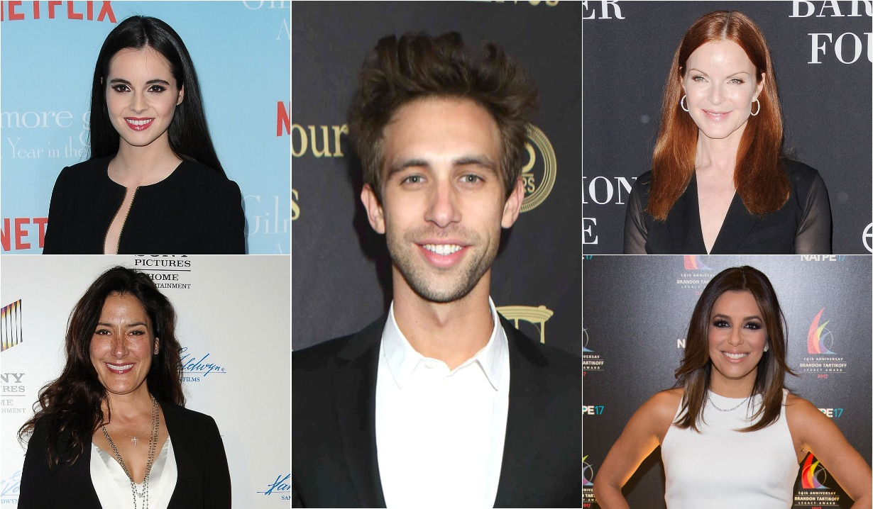 Marcia Cross, Eva Longoria, Blake Berris, Alicia Coppola, Vanessa Marano, soap opera alums