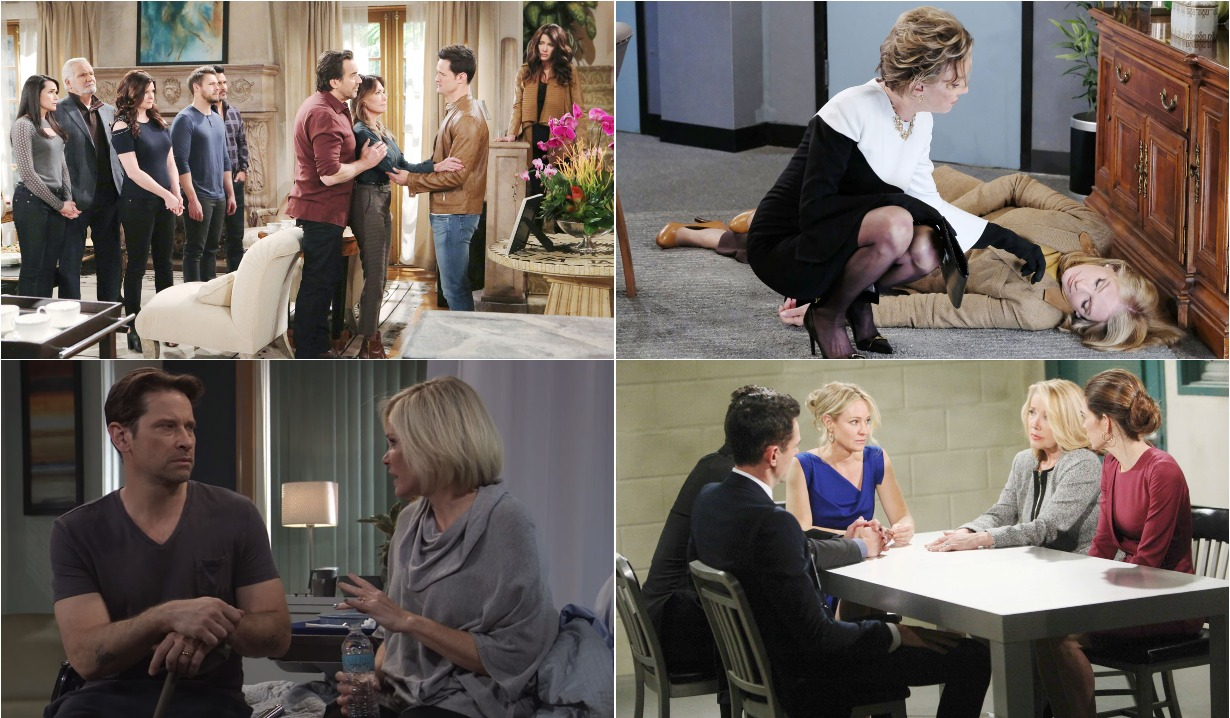 soaps roundup march 18 for Bold and the Beautiful, Days of our Lives, General Hospital, Young and the Restless