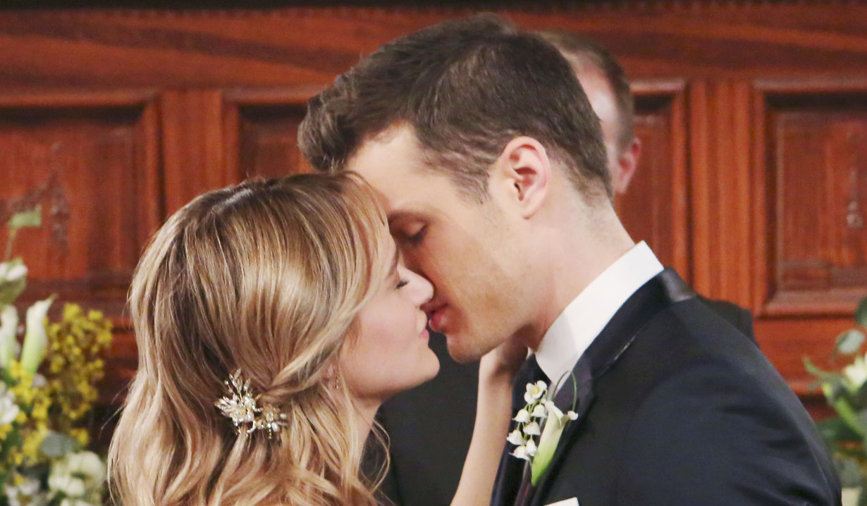 Kyle and Summer on Young and Restless