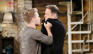 tripp grabs jack on days of our lives