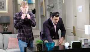 will and sonny break in to diana's room