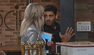 Abby and Arturo close moment on Young and Restless