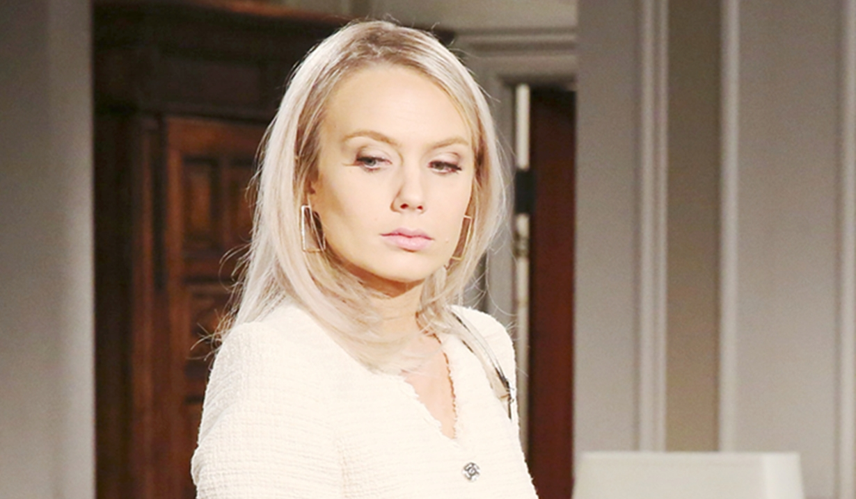 Abby does damage control Young and Restless