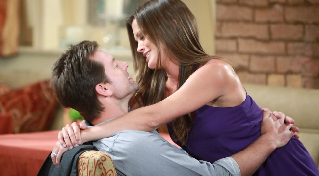 Adam and Chelsea in love on Young and Restless