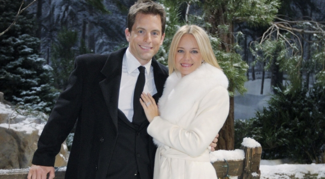 Sharon and Adam wedding on Young and Restless