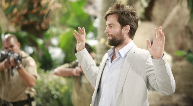 Adam caught on Young and Restless