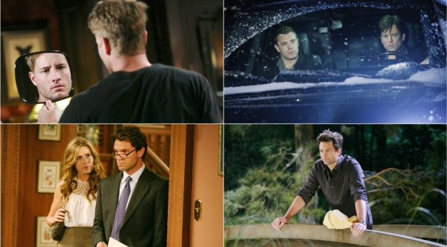 Adam collage on Young and Restless