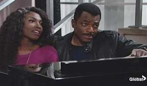 Ana and Jett piano on Young and Restless