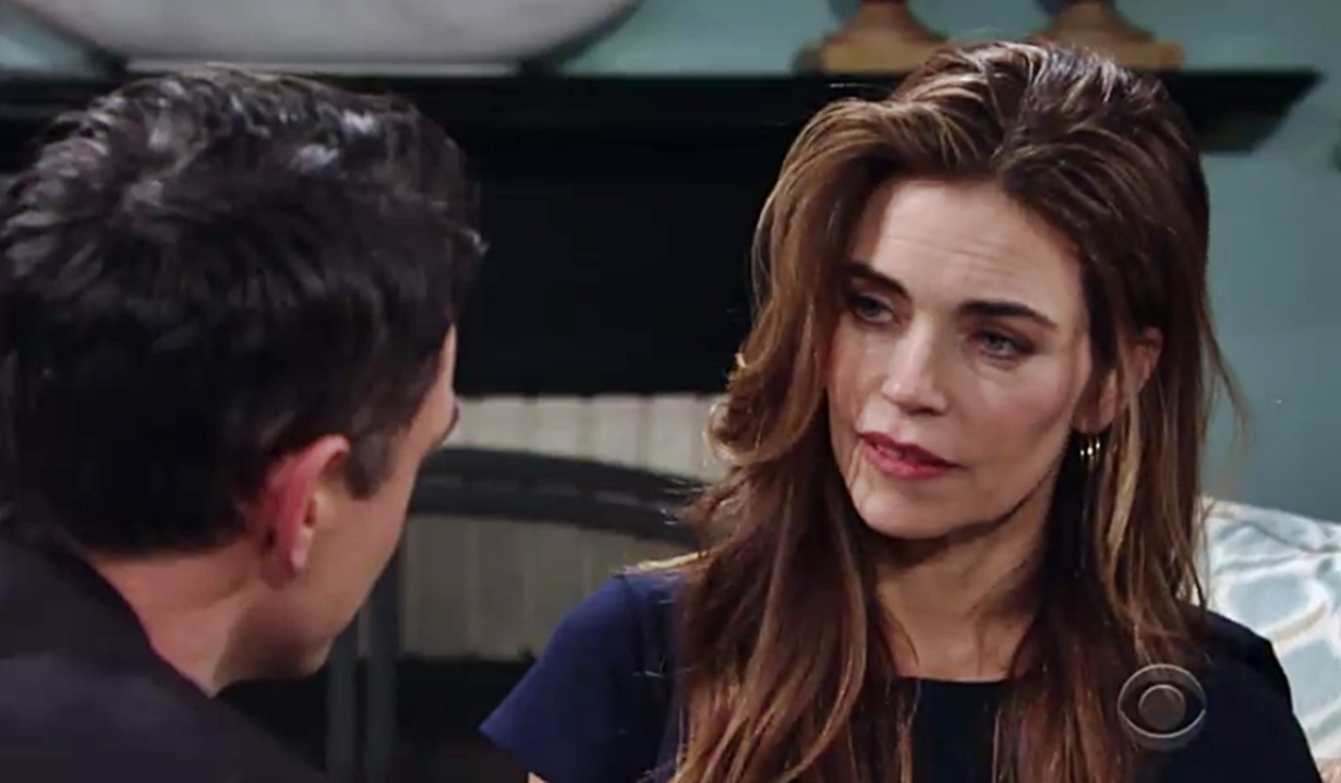 Billy proposes to Victoria on Young and Restless