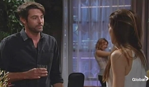 Brandon and Victoria on Young and Restless