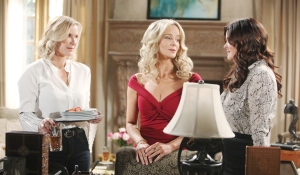 Brooke Donna and Katie reminisce on Bold and Beautiful
