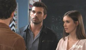 Chase and Willow are defensive with Shiloh General Hospital