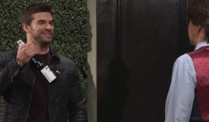 Chase pays Finn a visit General Hospital