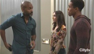 Curtis asks TJ about drugs General Hospital