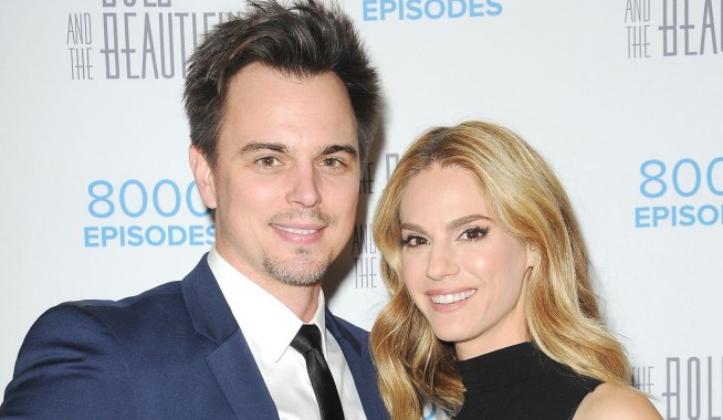 Darin Brooks and Kelly Kruger from Bold and the Beautiful and Young and the Restless