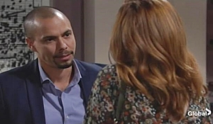 Devon reassures Mariah on Young and Restless