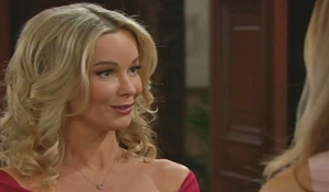 Donna meets Flo on Bold and Beautiful