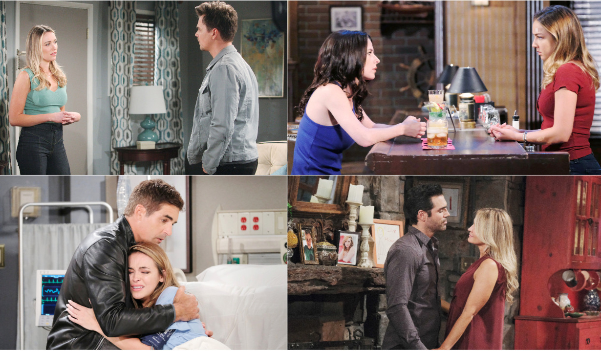 4-8-19 spoilers for bold and beautiful days of our lives general hospital young and restless
