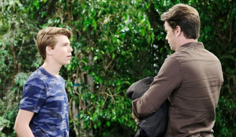 Cameron and Franco discuss being suspended General Hospital